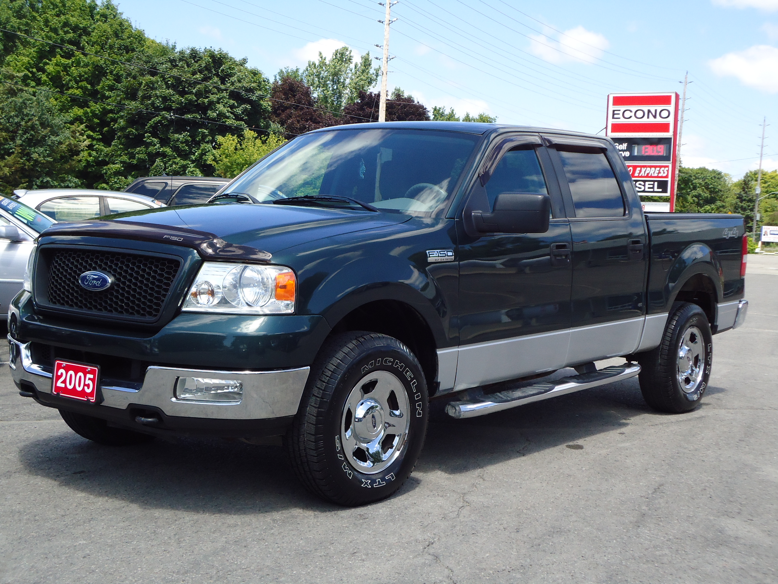 used 2006 ford f150 supercrew cab lariat 4wd short bed 4dr. Black Bedroom Furniture Sets. Home Design Ideas