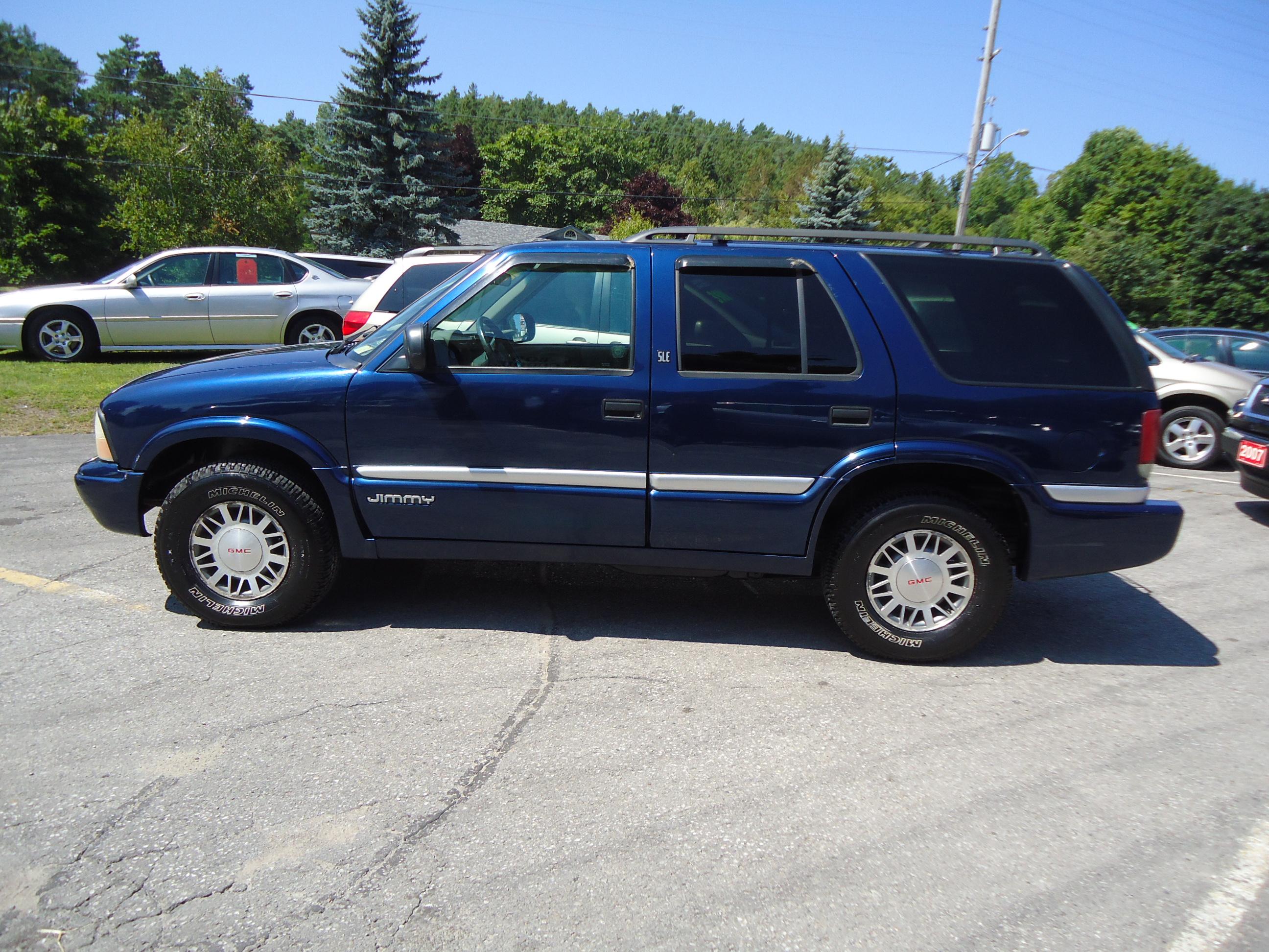 2001 Gmc Jimmy Sle 4x4 Bob Currie Auto Sales