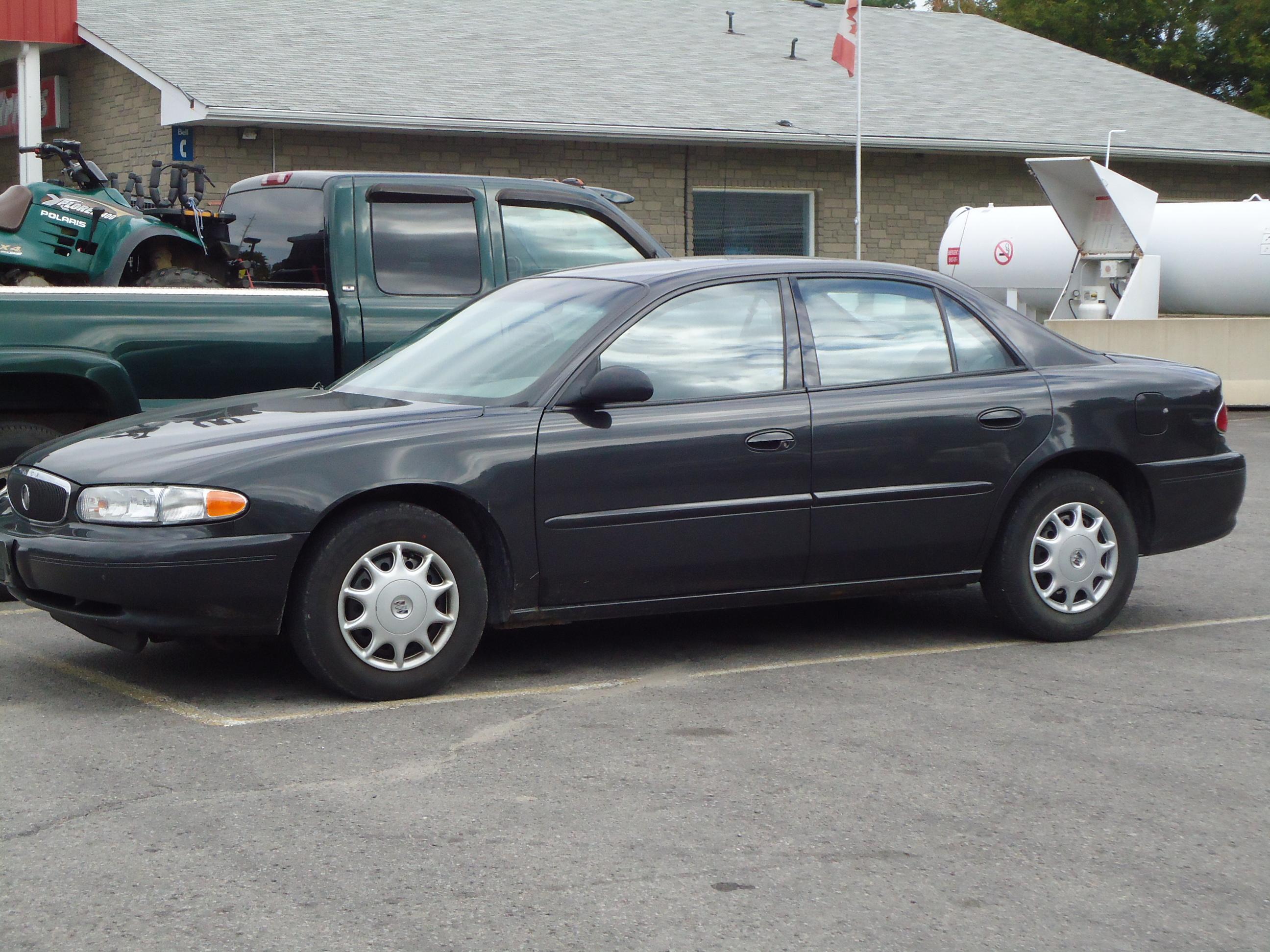 2003 buick century custom dark grey | bob currie auto sales