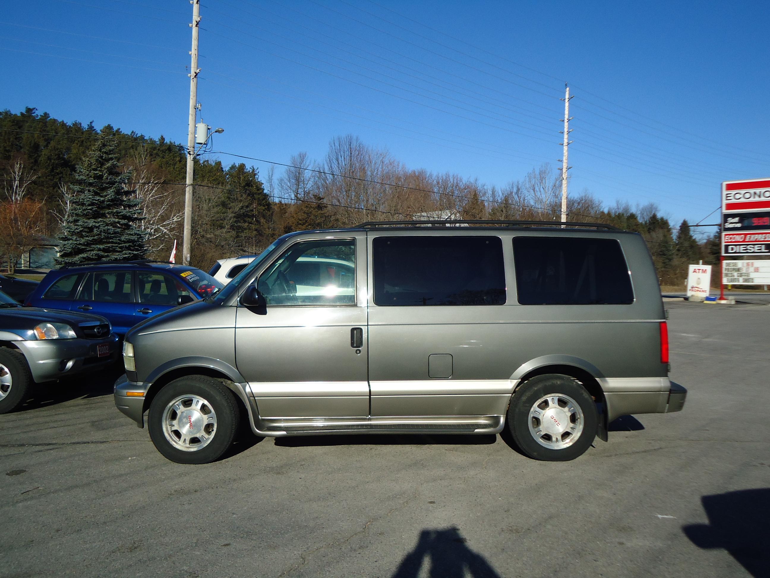 minivan cars savana rv corey gmc