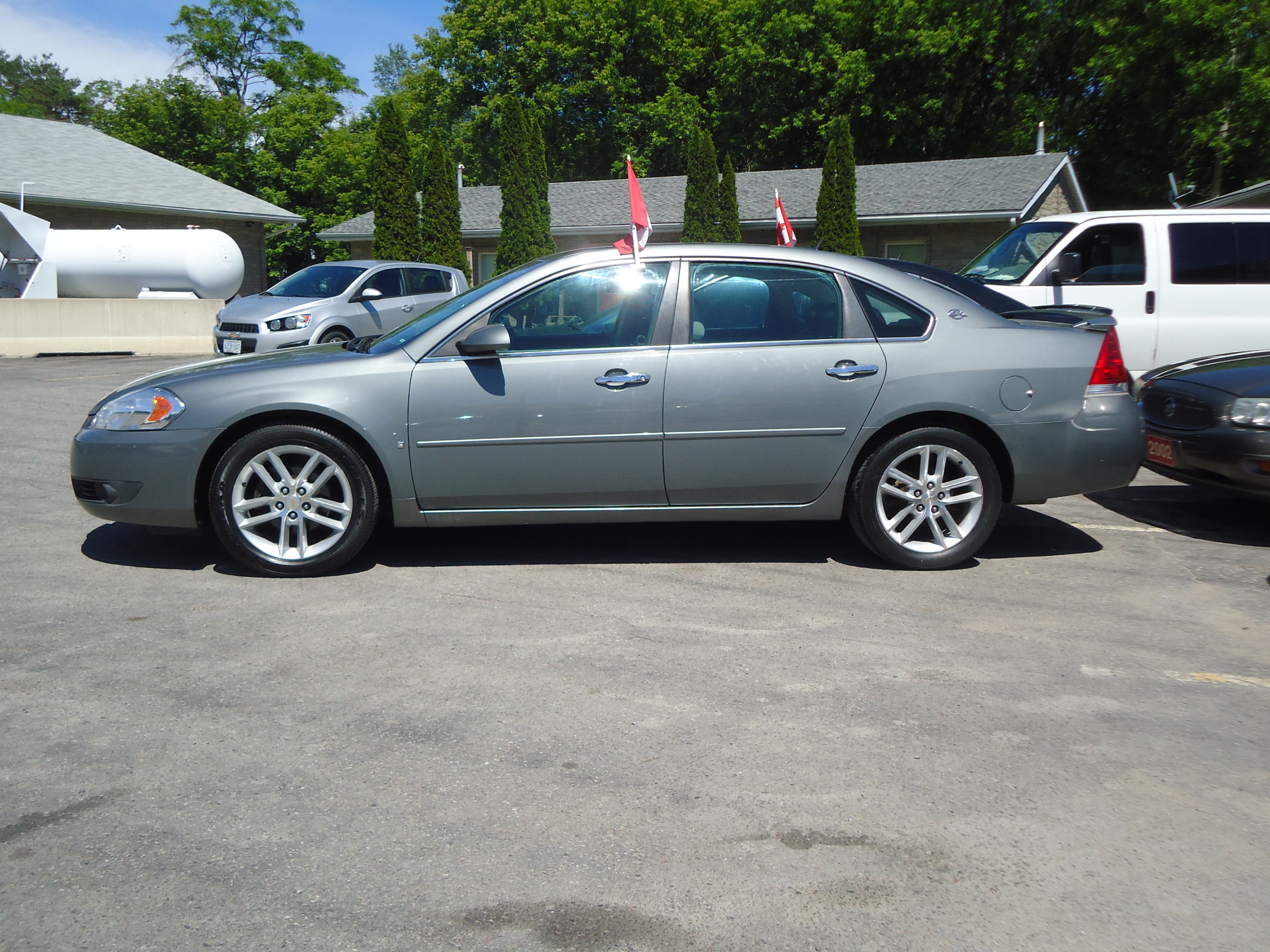 2008 Chevrolet Impala Ltz Grey 1 Bob Currie Auto Sales
