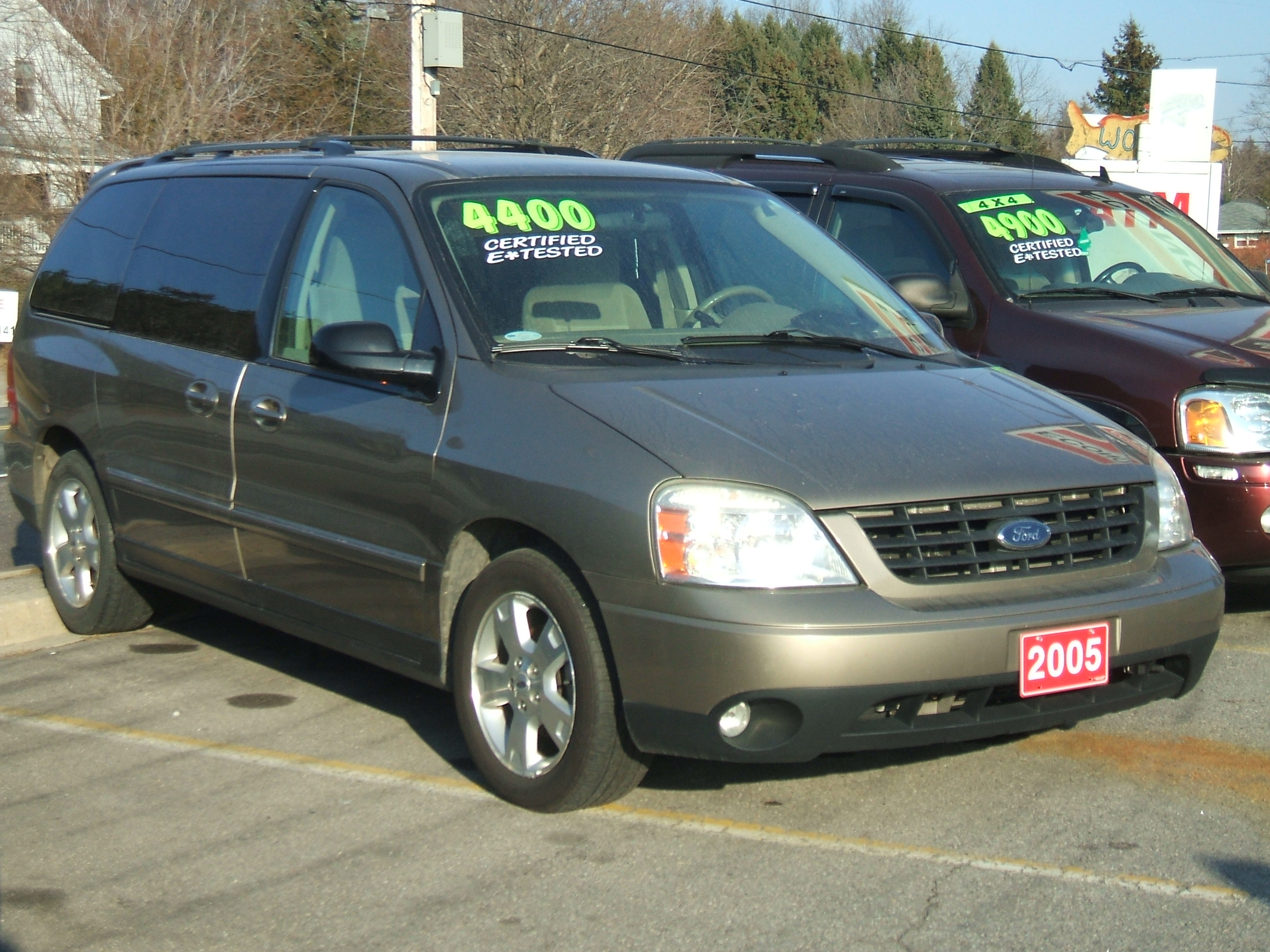 2005 Ford Free Star Ses Van 3