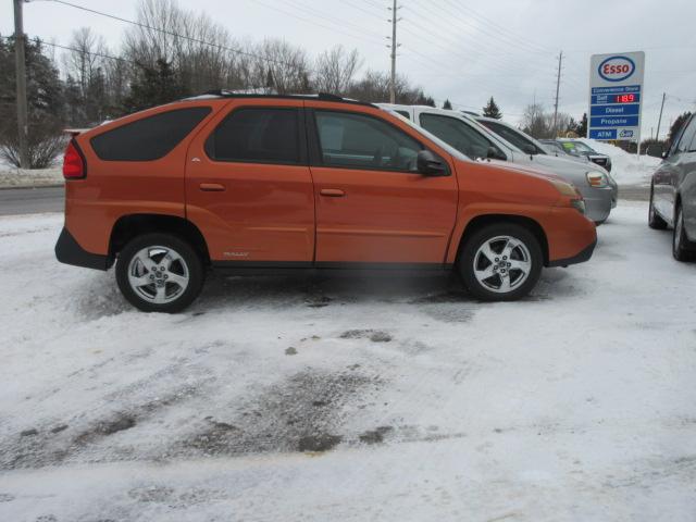 2004 Pontiac Aztek Rally Orange 1 Bob Currie Auto Sales