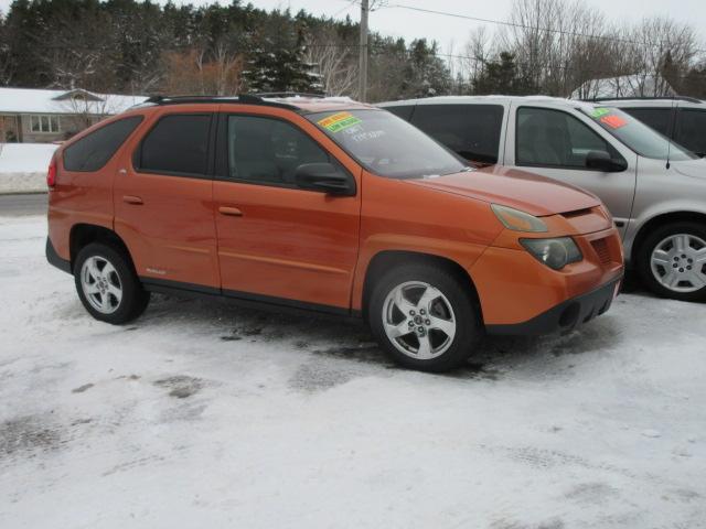 2004 Pontiac Aztek Rally Orange 2 Bob Currie Auto Sales