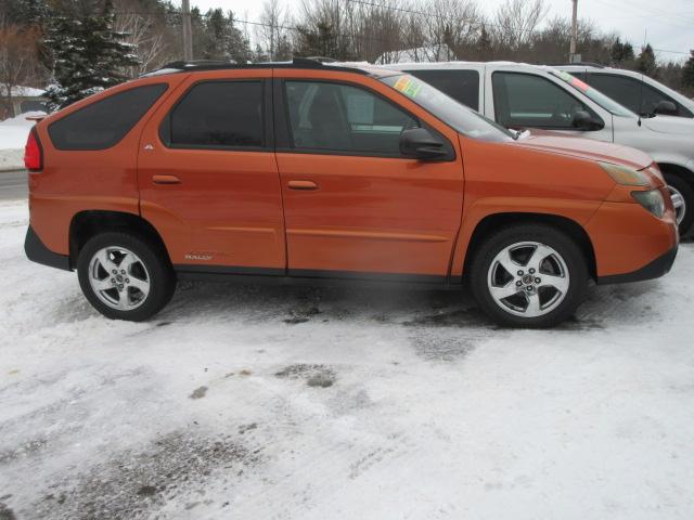 2004 Pontiac Aztek Rally Orange Bob Currie Auto Sales