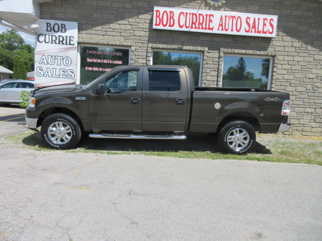 F150 Supercrew Cab >> 2008 Ford F150 Supercrew Xlt Cab 4 4 2 Bob Currie Auto Sales